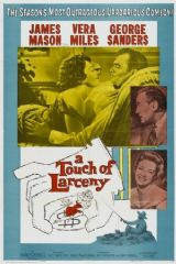 A Touch of Larceny 1959 DVD - James Mason / George Sanders